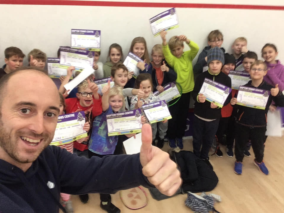 Skipton Tennis Centre holiday camps 2