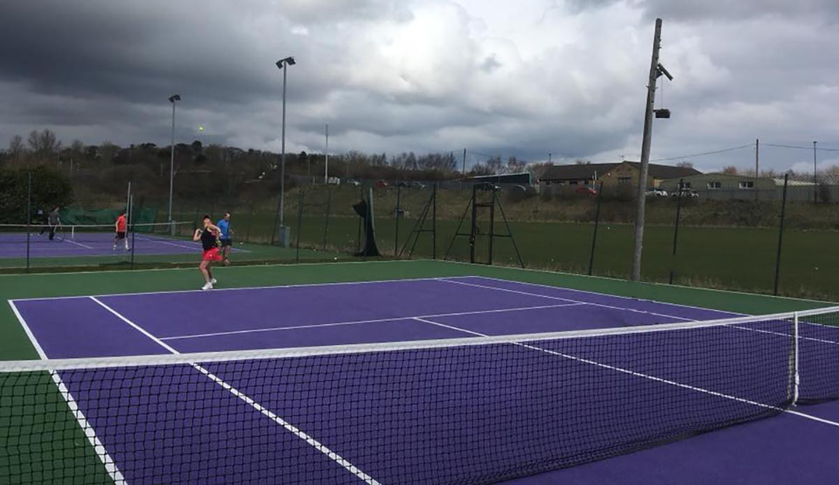 skipton tennis centre courts match tough