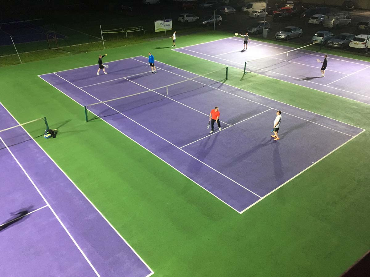 skipton tennis centre floodlit court 1