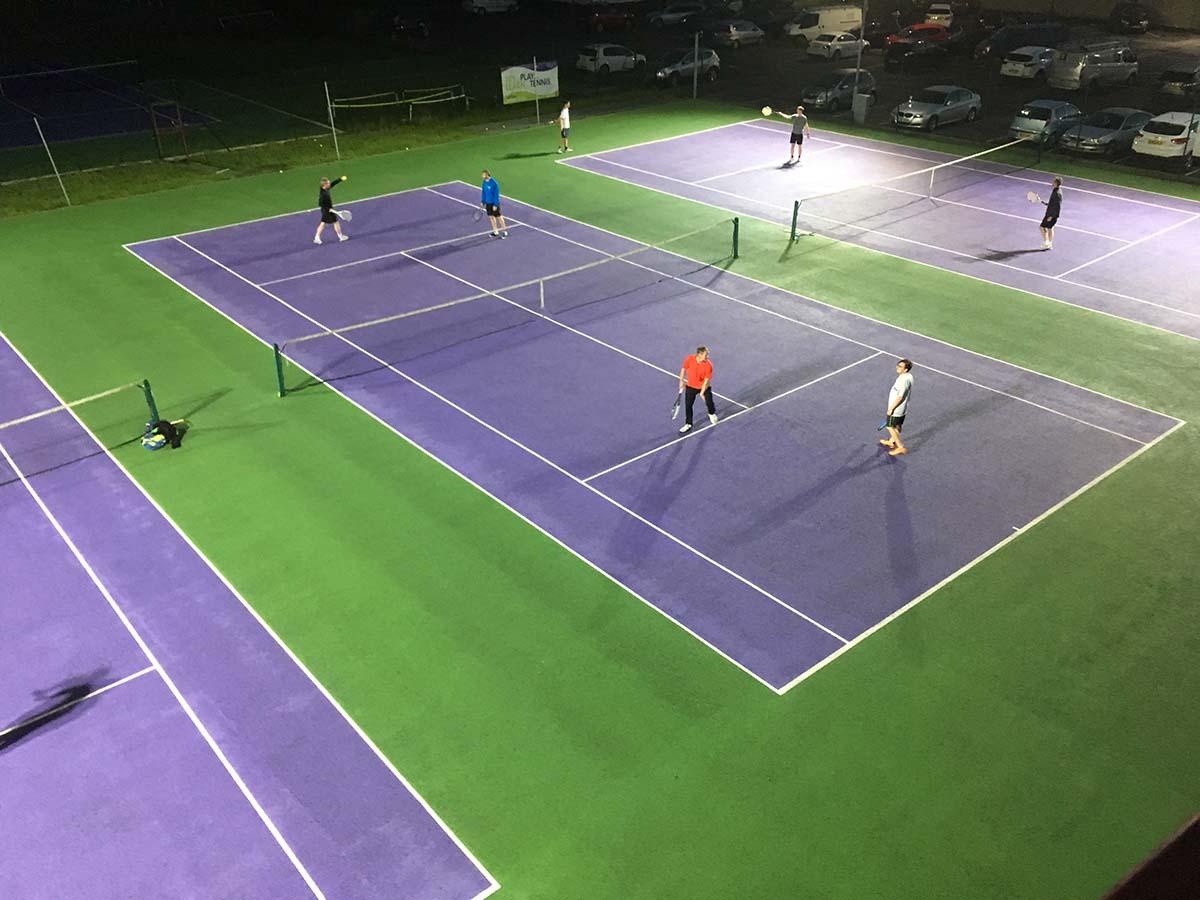 skipton tennis centre floodlit court 1